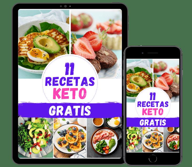 dieta keto recetas y postres